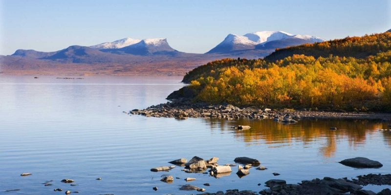 Abisko-nationaal-park-landschap