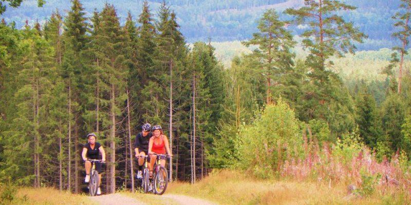 Actieve fietstocht in Smaland Zweden