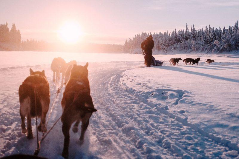 Activiteiten in kleine groepen in Lapland