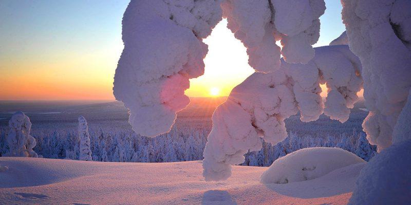 Akaslompolo Yllas National Parc Finland