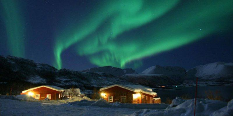 Andoy Friluftssenter noorderlicht Noorwegen