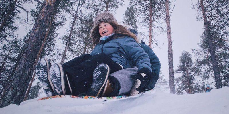 April is de ideale periode om met kinderen naar Lapland te reizen