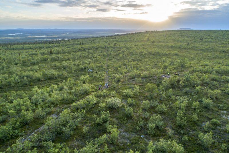 Tot rust komen in de uitgestrekte natuur van Lapland