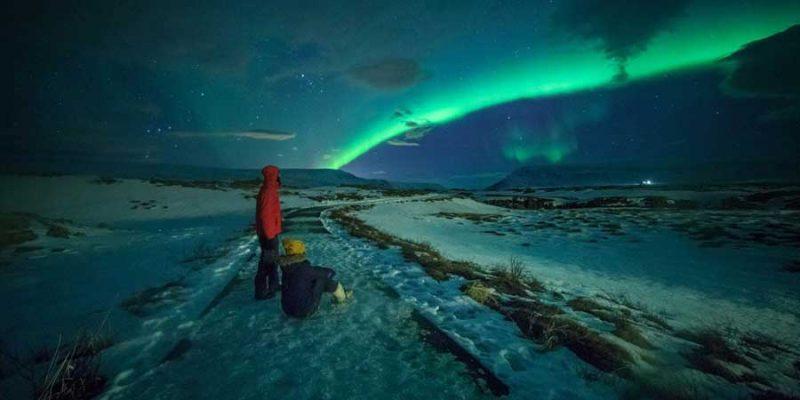 Ga op zoek naar het noorderlicht in IJsland