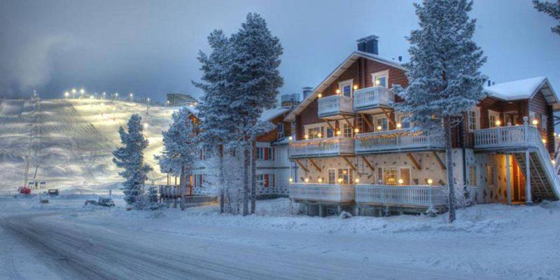 Appartement in het centurm van Levi Lapland
