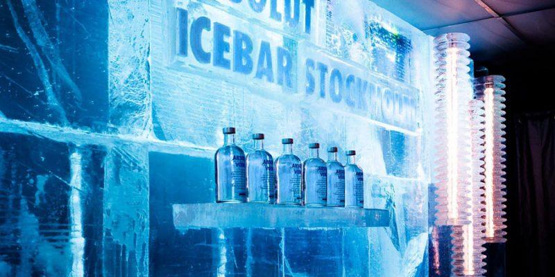 ICEbar in het ICEhotel in Zweden