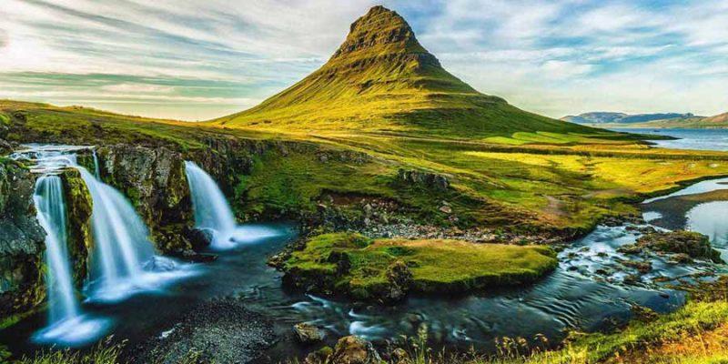 IJsland Kirkjufell berg