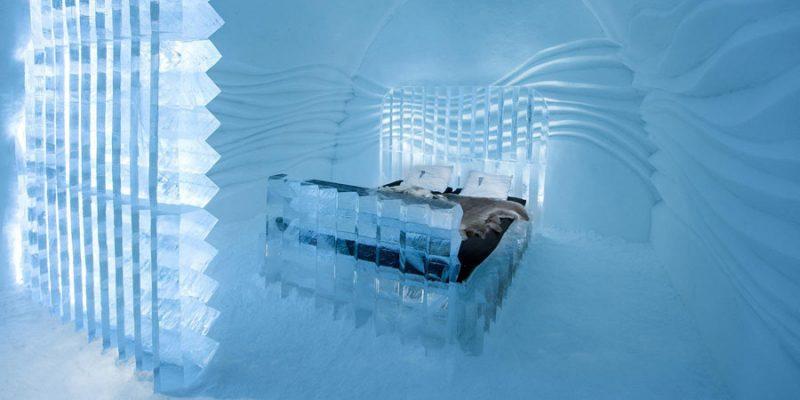 ijskamer van het ICEhotel