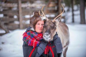 De Sami en hun rendieren: twee handen op één buik - ©Northworks Mikael Thörnqvist