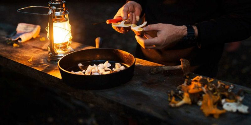 Koken-in-de-natuur-in-Lapland
