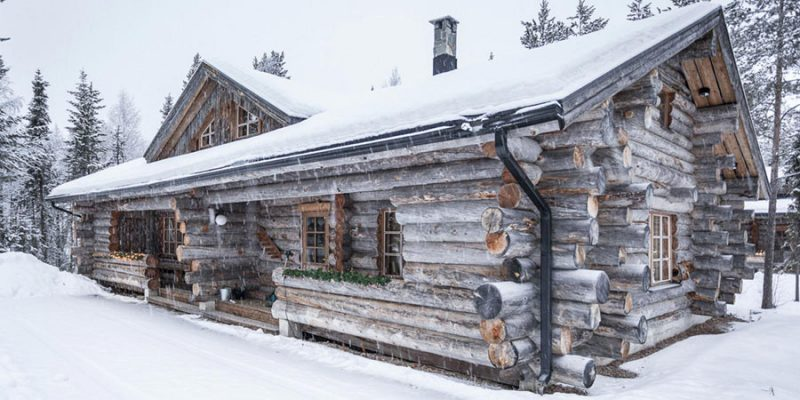 Authentieke chalet in Levi Lapland