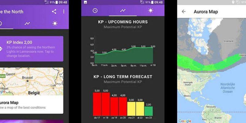 Noorderlicht app en map