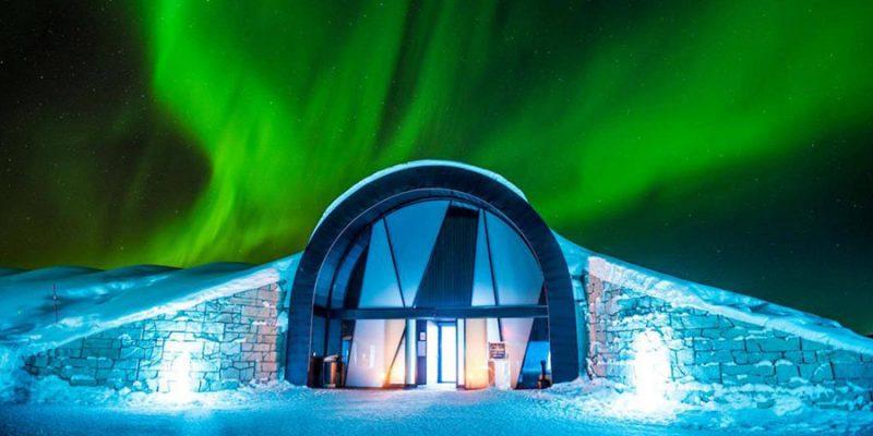 Noorderlicht-boven-het-ICEhotel