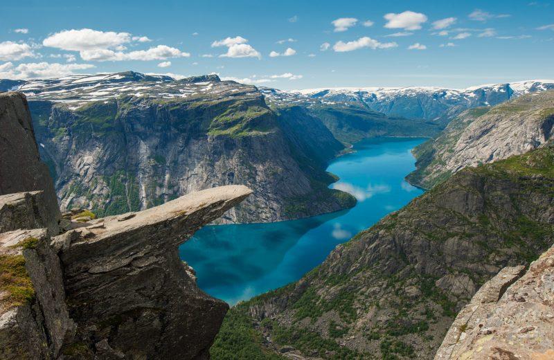 Noorwegen Trolltunga wandeling