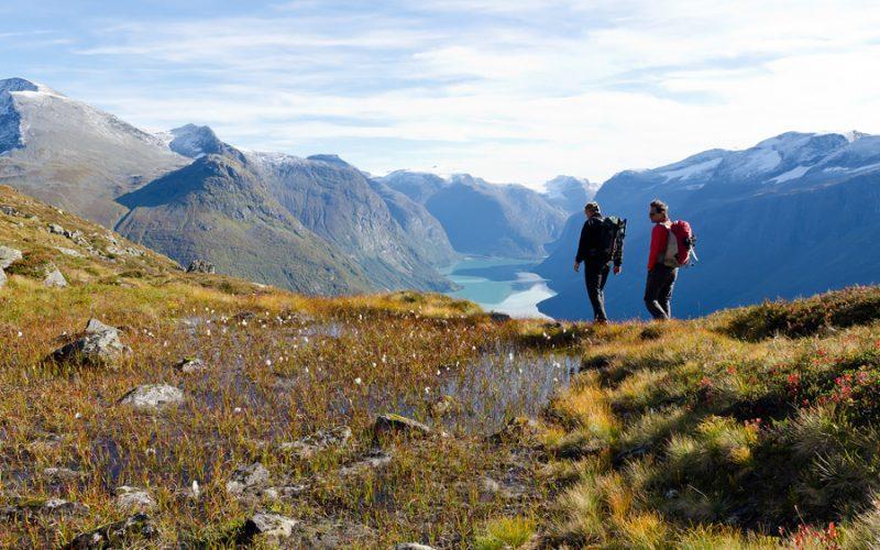 Noorwegen fjorden wandelen