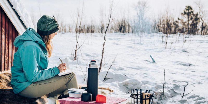 Ongerepte natuur en stilte in Zweeds Lapland