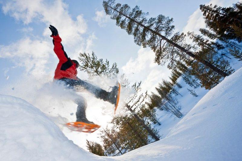 Ga wandelen met sneeuwschoenen - ©Northworks Mikael Thörnqvist