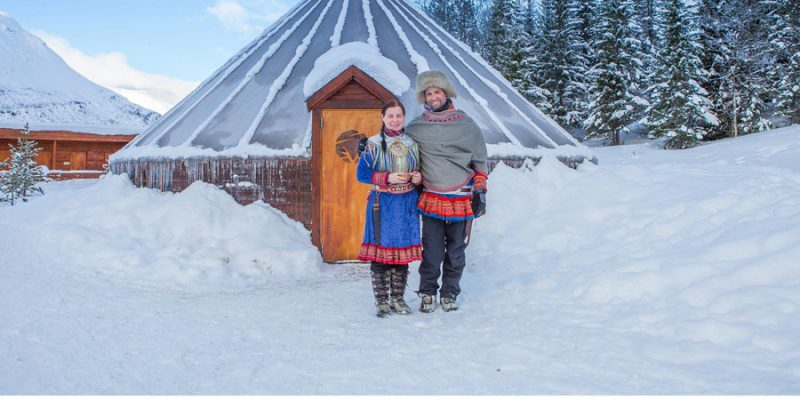Ontmoeting met de Sami in Fins Lapland