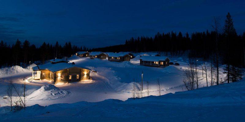 Chalet met of zonder sauna Lapland