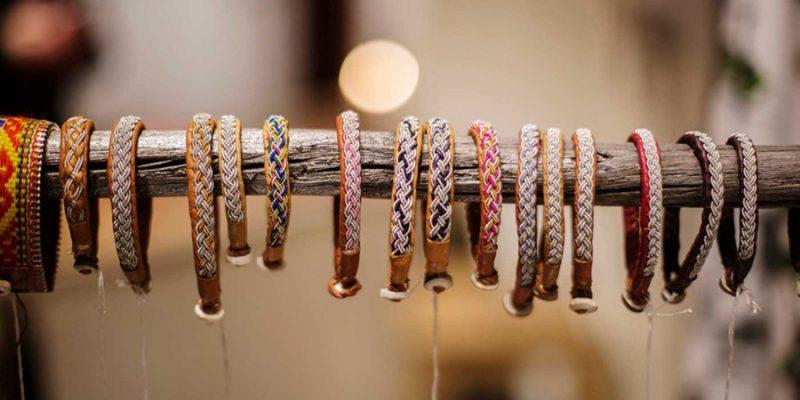 Sami-armbanden-handwerk-Lapland