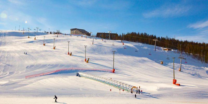 Skiën Levi Lapland