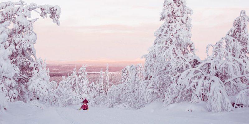 Sneeuwscooter Harriniva Finland
