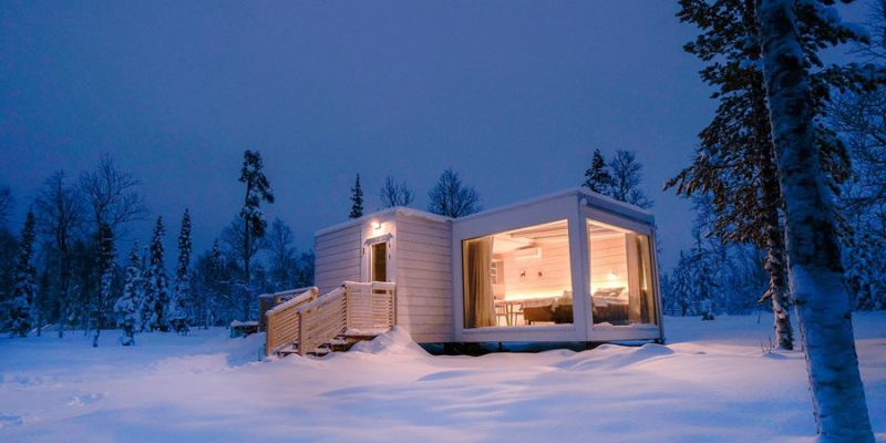 Suite van de Northern Lights Ranch Lapland