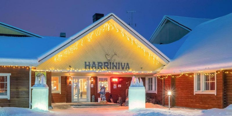 Welkom in Harriniva Wilderness hotel