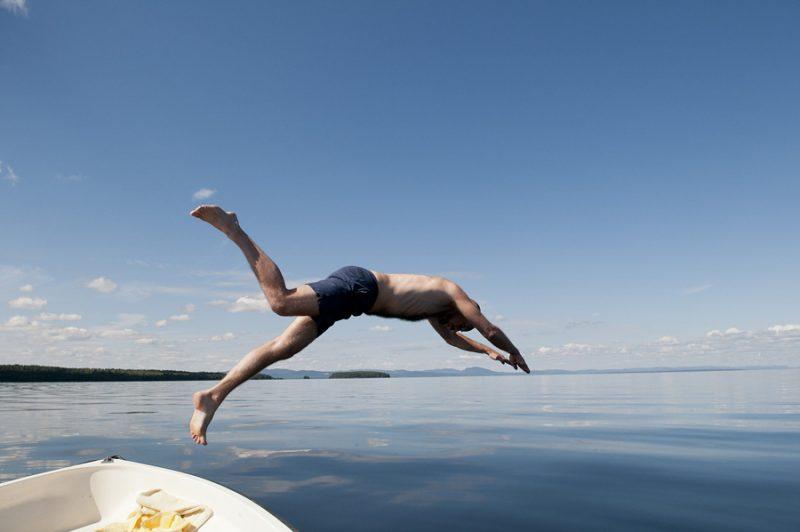 Zweden zwemmen meer