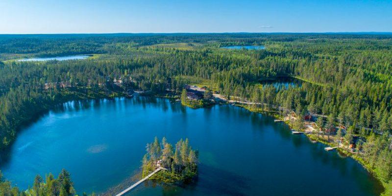 Verblijf in een lodge in de zomer - Pinetree Lodge - naar Zweeds Lapland met Nordic