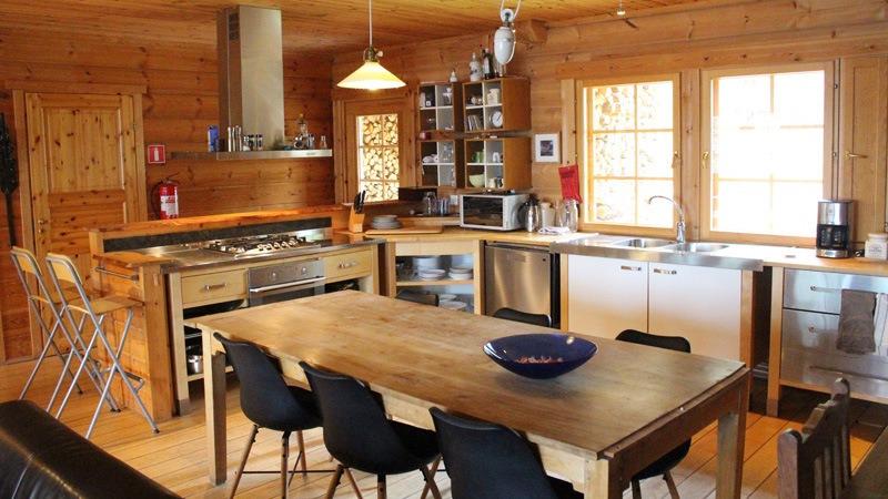 Bear-Lodge-keuken