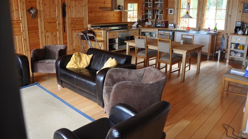 Bear Lodge leefruimte