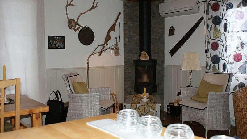 De-keuken-van-K-Vägen-vakantiehuis-in-Lofsdalen-Zweden