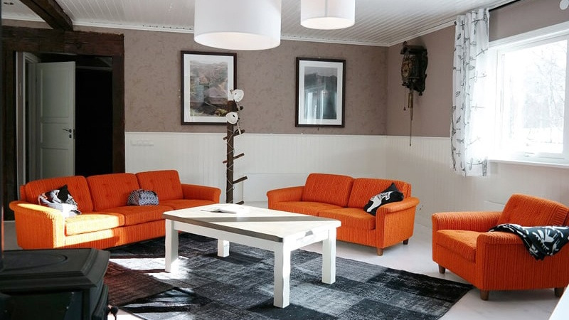 Moderne-leefruimte-in-appartement-Fähus-in-Gastrikland-Zweden