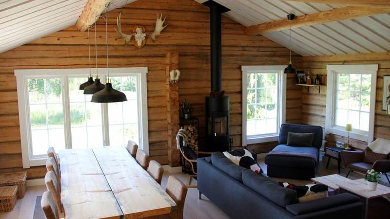 Moose Lodge leefruimte