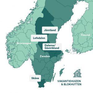 Scandinavië regio