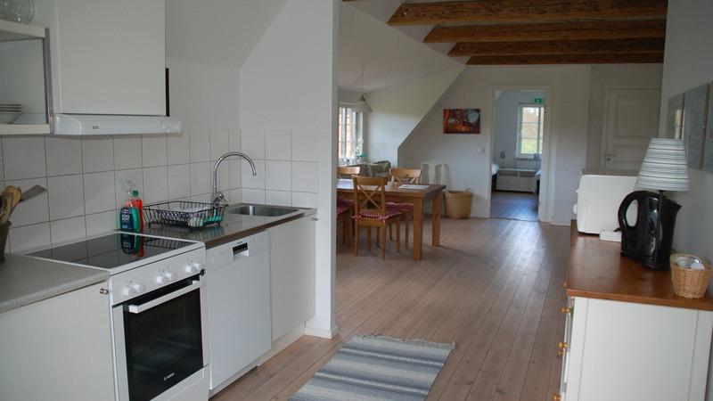 keuken-van-appartement-Loftet-in-Hjortsby-Torp-in-Zweden