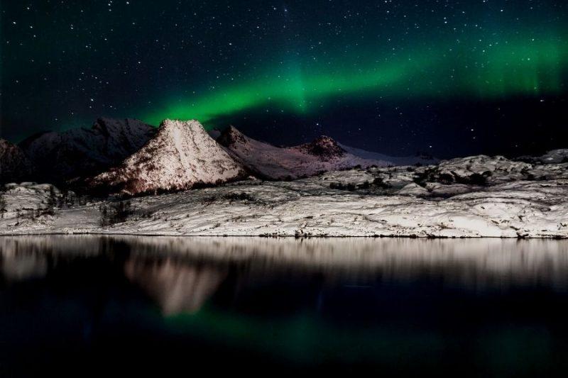 Noorderlicht Noorwegen Nordic