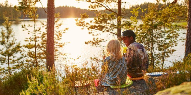 Wildkamperen in Zweden door het allemansrecht - ©Clive Tompsett