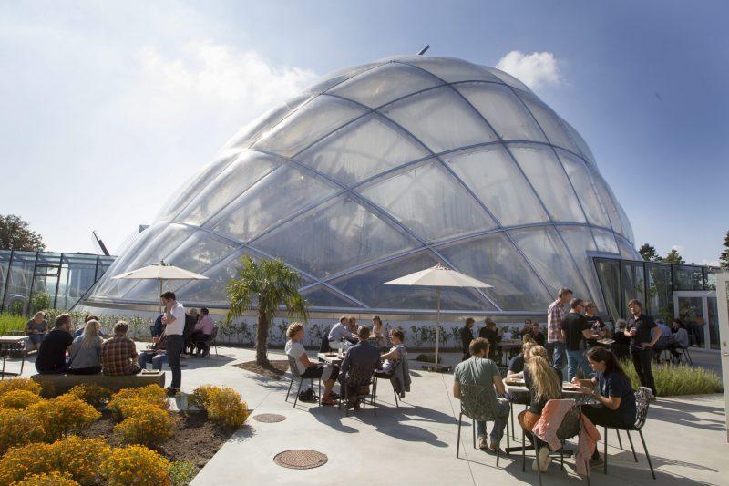 Architectuur in Arhus - botanische tuin - ©Jens Thaysen - Aarhus Stiftstidende