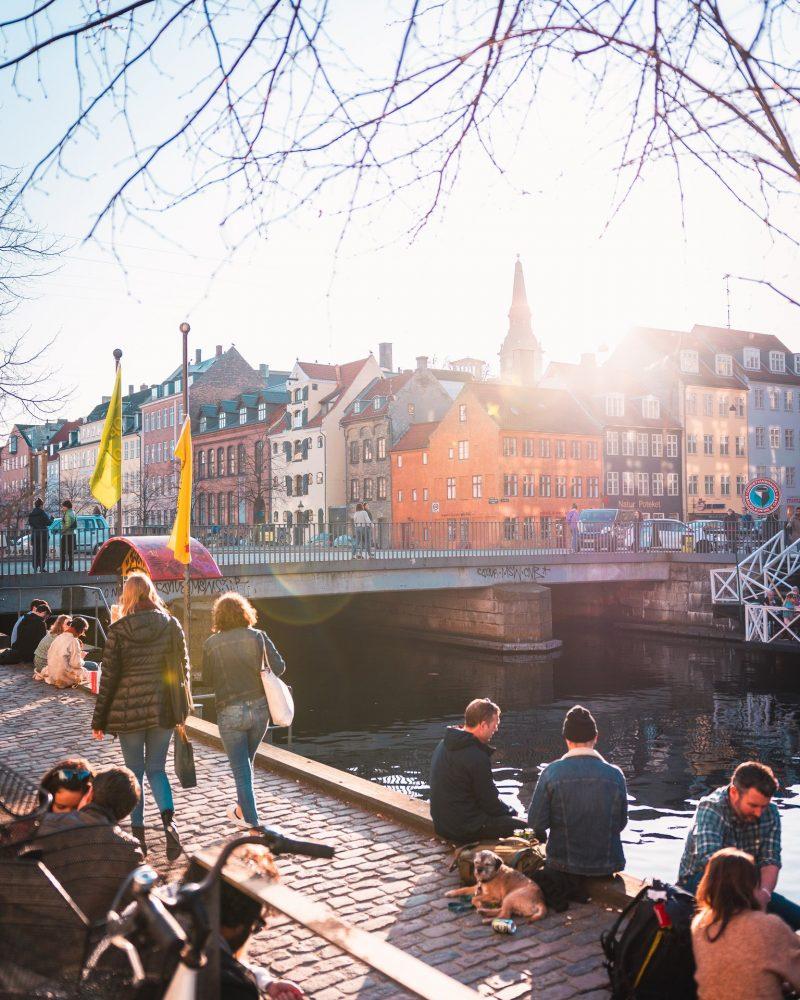 Terrasjes aan Christianshavn in Kopenhagen - ©Mathias Brandt