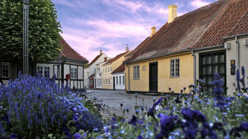 Bezoek Hans Christian Andersens' huis in Odense
