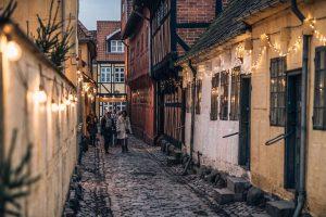 Kerstlichtjes in Odense