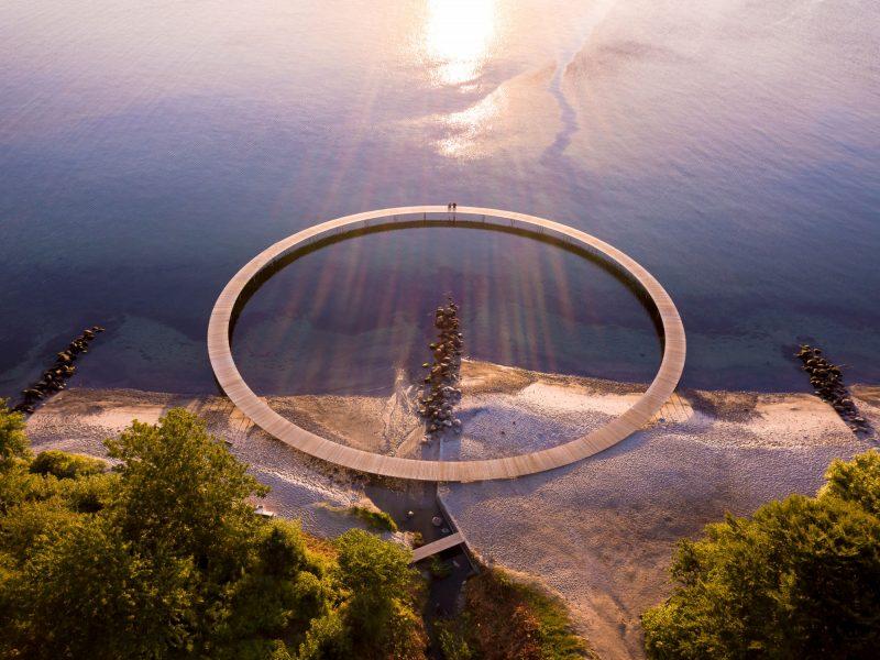 Wandel over The Infinite Bridge in Arhus - ©Dennis Borup Jakobsen