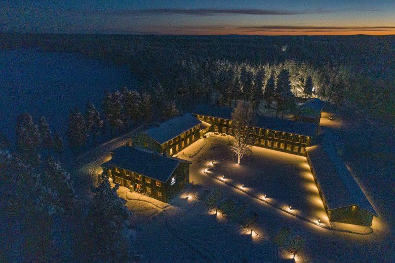 Envie de découvrir la Laponie à l'état pur? L'Arctic River Lodge est la base idéale