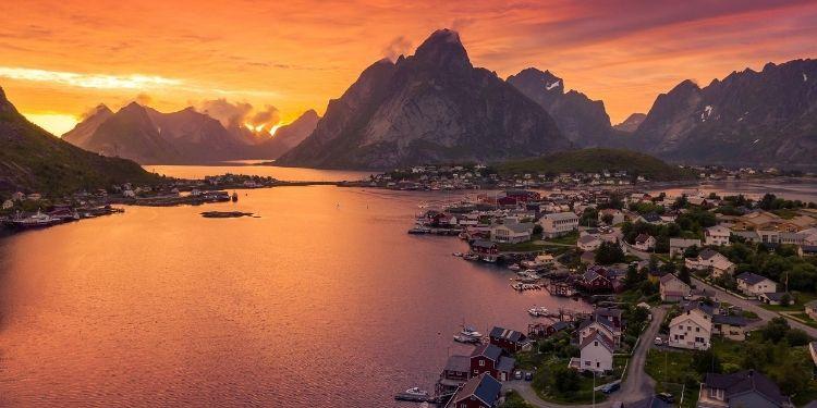Middernachtzon met Nordic
