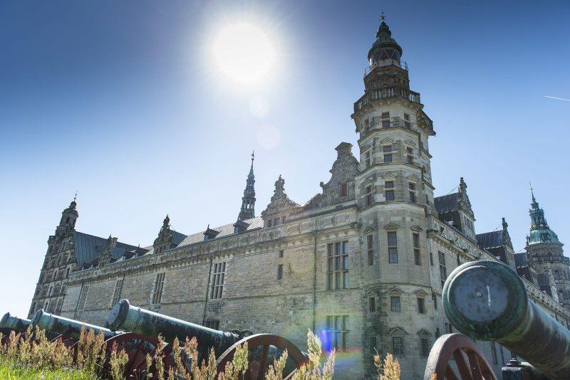 Kanonnen van het Kronborg kasteel - naar Denemarken met Nordic - © Thomas Rahbek
