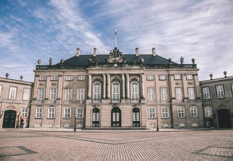 Het Amaliënborg Paleis