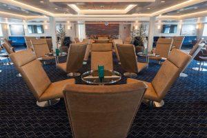 Lounge aan boord