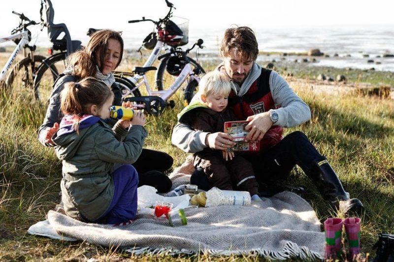 Ontdek de tuin van Denemarken per fiets